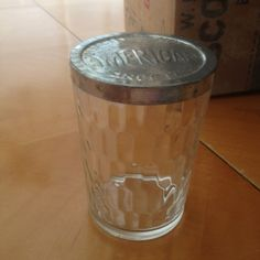 Lot of 12 Vintage Quality American Snuff Tobacco Glass Jars Tin Lids | eBay