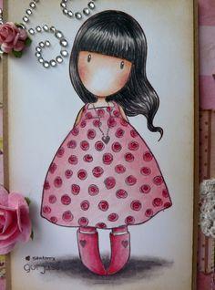 Jane's Lovely Cards : Gorjuss Girl