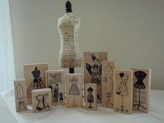 Dressform Stamps | Flickr - Photo Sharing!