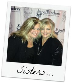 Do u have a sister? Stop by the blog & share w/ @Spellbinders' President and Founder Stacey Caron what you appreciate about your #sister. #crafting