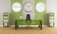 Green Office Walls Make For A More Productive Staff. ROSI Office Systems. www.rosiinc.com