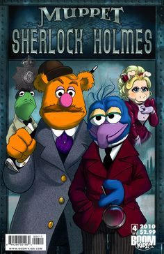 Muppet Sherlock Holmes #4, November 2010, cover by Amy Mebberson