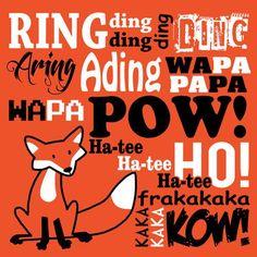 What Does The Fox Say T Shirt Funny Music Video Meme Christmas Gift Tee Shirt | eBay