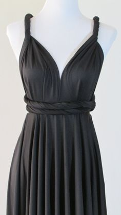 FREE BANDEAU Little Black Dress Convertible by HerBridalParty
