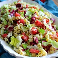 Portillo's Chopped Salad, thank you Jenn for pinning this hah