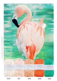❤ =^..^= ❤ Flamingo | Kleurinspiratie | MrsHooked