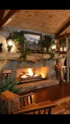 The fire place-SR