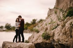 Scarborough Bluffs journalistic engagement on an overcast fall day. We went to the beach, the cliffs, the swamp and walked the trails too for some images. Scarborough Bluffs, Monument Valley, Grand Canyon, Engagement, Beach, Travel, Image, Viajes, Seaside