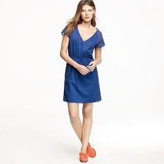 cute tiny-patterned cotton dress