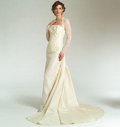 vogue wedding dress patterns | V2906 | Misses' Dress | Bridal | Vogue Patterns