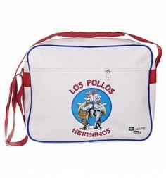 0064c7f4d7bb White PU Breaking Bad Los Pollos Messenger Bag   Main Messenger Bag