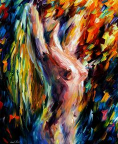 MORNING + LEONID AFREMOV NUDE by Leonidafremov.deviantart.com on @deviantART