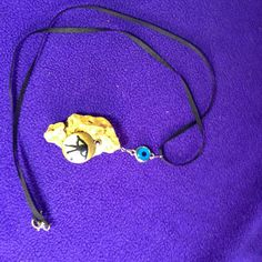 Eye of Ra Handmade Necklace, Egyptology, Good Luck Charm, Mysticism #Handmade #Charm
