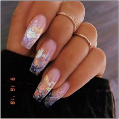 132 bestdummer acrylic nail design page 36 | Armaweb07.com Summer Acrylic Nails, Best Acrylic Nails, Acrylic Nail Designs, Nail Art Designs, Nails Design, Long Nail Designs, Clear Nail Designs, Acrylic Nail Shapes, Acrylic Nails Coffin Glitter