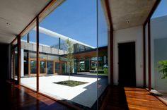 Diez + Muller Arquitectos designed the 2V House in Tumbaco, Ecuador.