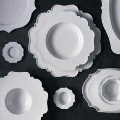 """Taste"" Dinnerware by Reichenbach Porzellan · www.labella-amara.com"