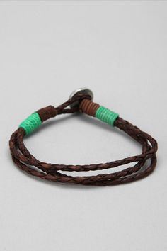 Leather Rope Bracelet  #UrbanOutfitters
