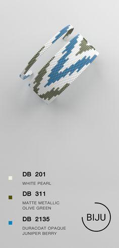 4,72 $ Peyote bracelet pattern, peyote pattern, odd count, stitch pattern, pdf file, pdf pattern, #06BIJU