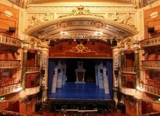 New Wimbledon Theatre - Proscenium and stage