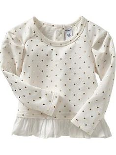 Printed Peplum-Hem Sweatshirts for Baby | Old Navy #alfordfamilychristmas2013