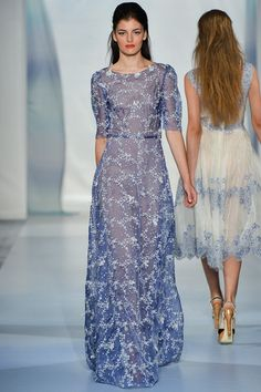 Luisa Beccaria Spring 2014 Ready-to-Wear Collection. Luisa Beccaria Spring 2014 Ready-to-Wear Collection. Gala Dresses, Dressy Dresses, Event Dresses, Love Fashion, Runway Fashion, Fashion Show, Fashion Design, Milan Fashion, Luisa Beccaria