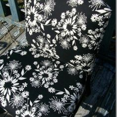 Upholstering caned chairs is a great way to disguise the broken caning. Even a novice can do this project.