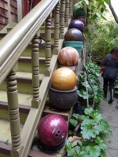 Bowling Ball Garden - picture reference