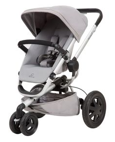 Quinny Buzz Xtra 2.0 Seat Baby Stroller Auto Unfold Reversible Grey Gravel