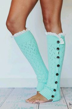 Boot socks, these are SO cute.