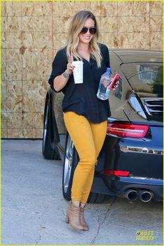 Hilary Duff. Love her hair!