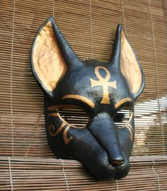Anubis Mask with Ankh Symbol by ~nondecaf on deviantART