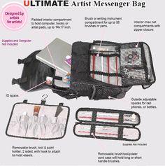 Martin Just Stow-it Ultimate Messenger Bag  Black 76acf6c1d2225