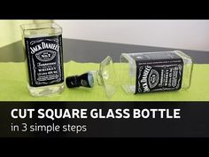 How to cut a bottle using household items! - YouTube