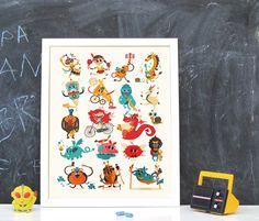 """Diseño gráfico e ilustraciones para el CD/DVD infantil TULUS """"Canciones en el Planeta de las Bromas"""", editado por Sandra Reyes, John Gunnar Akerø y Jorge Gutiérrez. Este ha sido un proyecto colaborativo hispano-noruego-colombiano muy divertido y que les encantará a los más peques de la casa."""