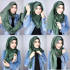 #hijabtutotial #hijablove #hijabers #hijabwrapping #muslimah #hijabstyle #hijab #hijabfashion #hijabers #modest