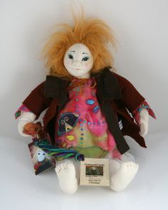 """Limited Edition Pinkneydell Doll - """"Shandra"""" £17.95"""