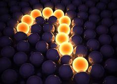 question mark 3d cg digital art globes sphere pattern texture lights glow