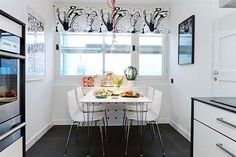 small apartment dining room with bench - Google Search