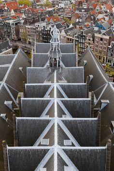Dak de Oude Kerk. Foto: Wim Hanenberg