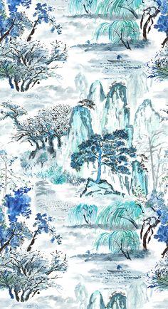 Designers Guild Jade Temple fabric