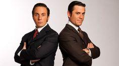 Murdoch Mysteries - George Crabtree and William Murdoch heavy sigh, it's like a boy band crush for biddies....