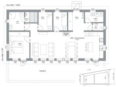 Fritidshustillverkare - Funkis eller fjällstuga | Hudikhus AB Dream Home Design, House Design, Scandinavian Cottage, House Blueprints, Beach House, House Plans, Floor Plans, Cabin, How To Plan