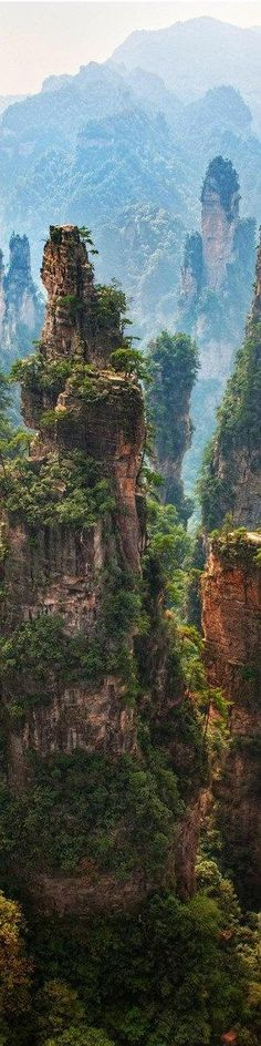 Wulingyuan National Park, China