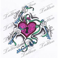Childrens Names | Childrens names tattoo #95200 | CreateMyTattoo.com
