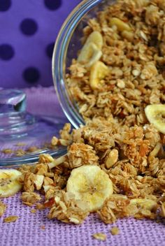 Granola for snacking   8 cups rolled oats  1 cup sweetened coconut flakes  1 cup of flax meal {optional}  1 cup sliced almonds or whole raw almonds chopped or your favorite nut.  3/4 cup coconut oil or safflower oil or canola  1 cup brown sugar  1/2 cup honey  1/2 tsp. salt  1 T. vanilla   325 degrees, 20 minutes