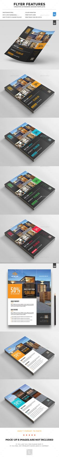 Pin by Mytemplatedesigns on Real Estate Flyer Design Templates - flyers and brochures templates