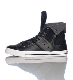0827fdd5859c2 ZIP EX HI LEATHER SNEAKER  LEVIS S  Leather and canvas  Lace up closure   Foldover high top men s sneaker  Cushioned sole for ultimate comfort and  ...
