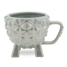 Epcot Spaceship Earth Mug. I wouldn't buy it but it is sort of interesting.