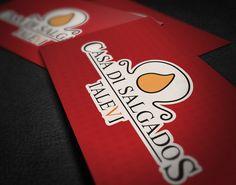 Cartões de visita Casa Di Salgados (frente - 2013)