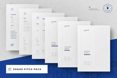 Sonos Proposal Pitch Pack by Egotype on @creativemarket
